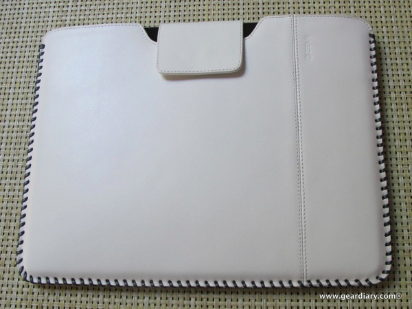 iPad 2 Case Review: ZENUS iPad 2 Leather Case 'Prestige' HandCraft Stitch Pouch Series