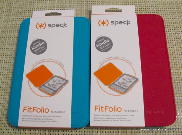 Kindle Case Review: Speck FitFolio for Kindle 3