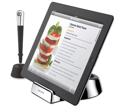 Belkin's Cooking with iPad Kitchen Accessories  Belkin's Cooking with iPad Kitchen Accessories