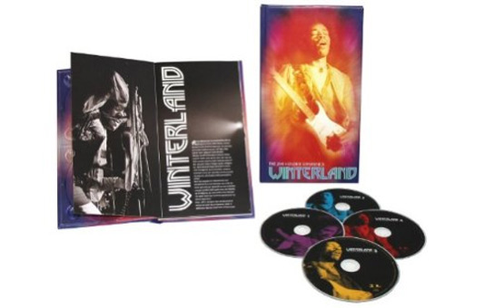 Music Diary Review: Jimi Hendrix - 'Winterland 5 CD Box Set (Amazon.com Exclusive)' (2011, Rock)