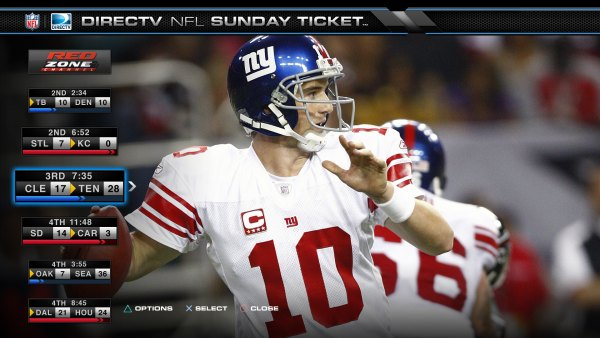 DirecTV NFL Sunday Ticket - The Beginning PlayStation 3 Video Service Review
