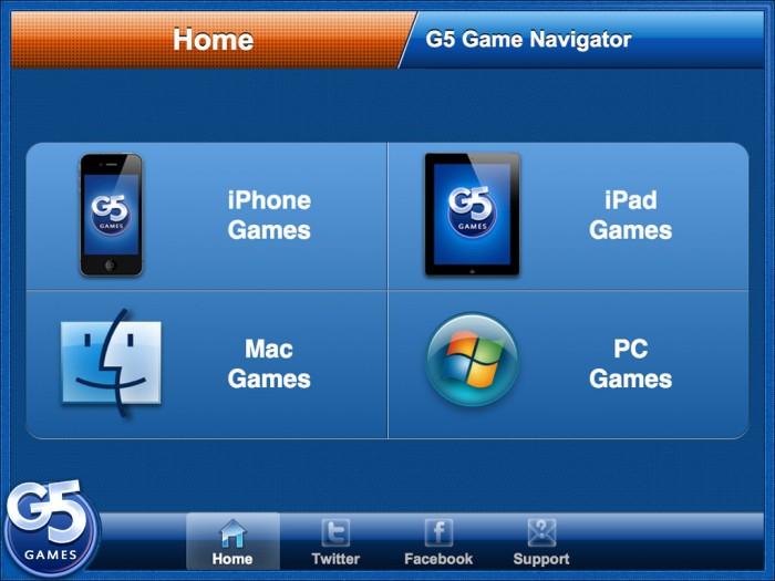 iPad/iPhone App Review: G5 Games Navigator