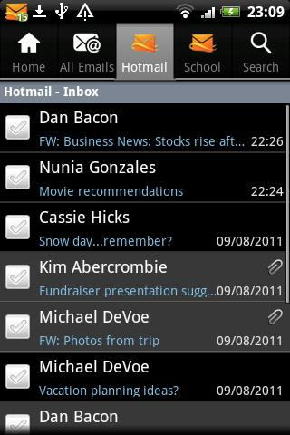 Microsoft Releases Hotmail App for Android!