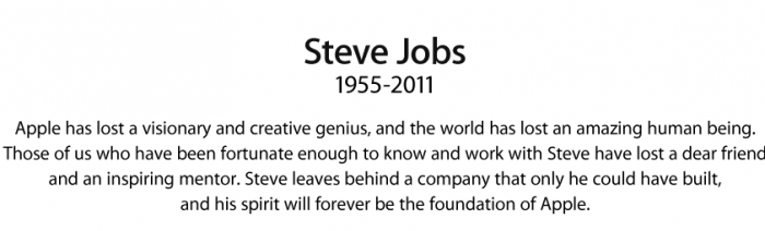 RIP Steve… and Thank You!!