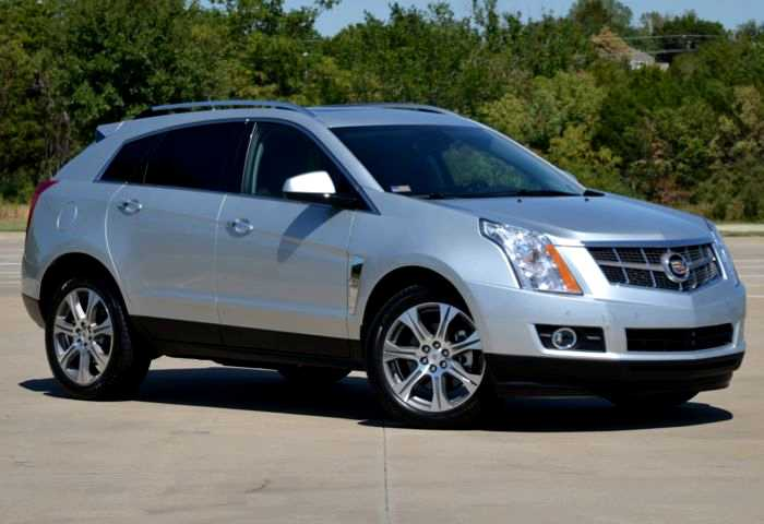 2012 Cadillac SRX Gets a New Ticker