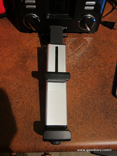 The Belkin iPad Kitchen Cabinet Mount Review  The Belkin iPad Kitchen Cabinet Mount Review