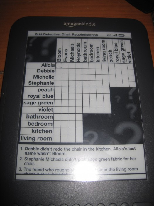 Grid Detective for Kindle Review  Grid Detective for Kindle Review  Grid Detective for Kindle Review