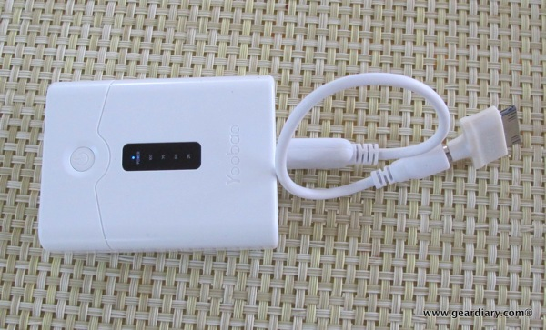 Yoobao Power Bank 4400mAh External Battery review