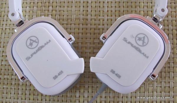 Andrea SuperBeam Phones SB-405 Stereo Headset Review
