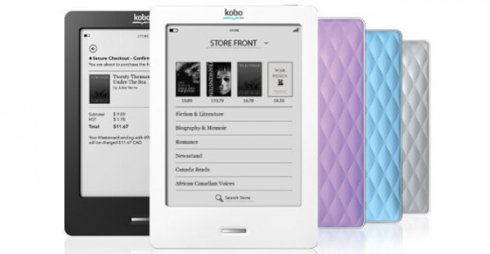 Kobo Reader Kobo eBooks CES