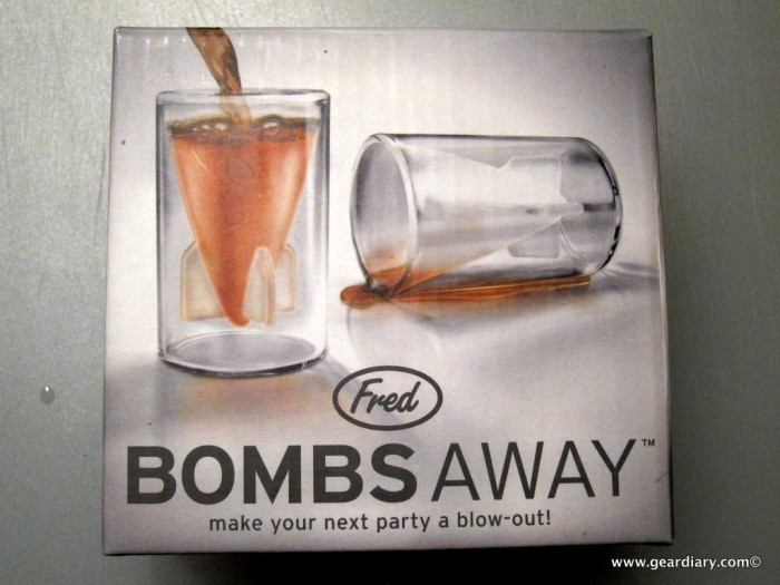 If You're Gonna Get Bombed Anyway, Try the 'Bombs Away' Shot Glasses from ConvenientGadgets.com
