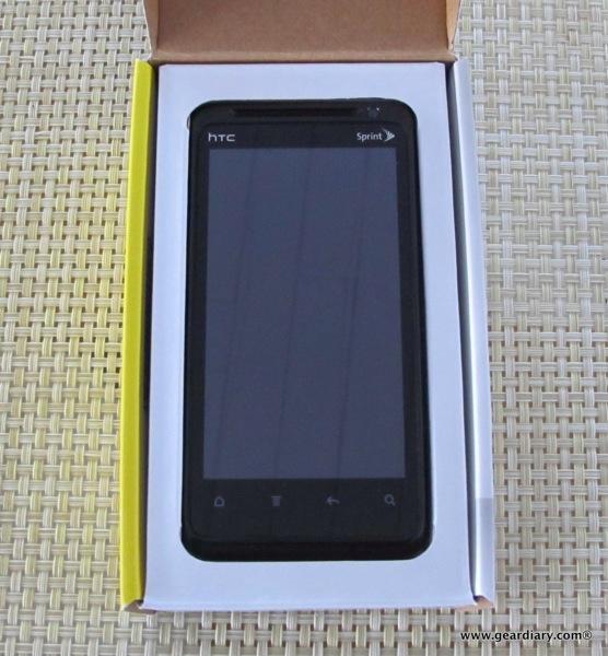 HTC EVO Design 4G for Sprint Review