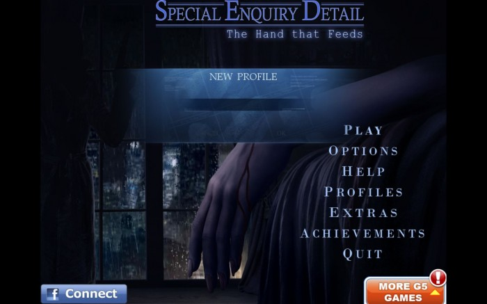 Special Enquiry Detail: The Hand that Feeds Mac Game Review