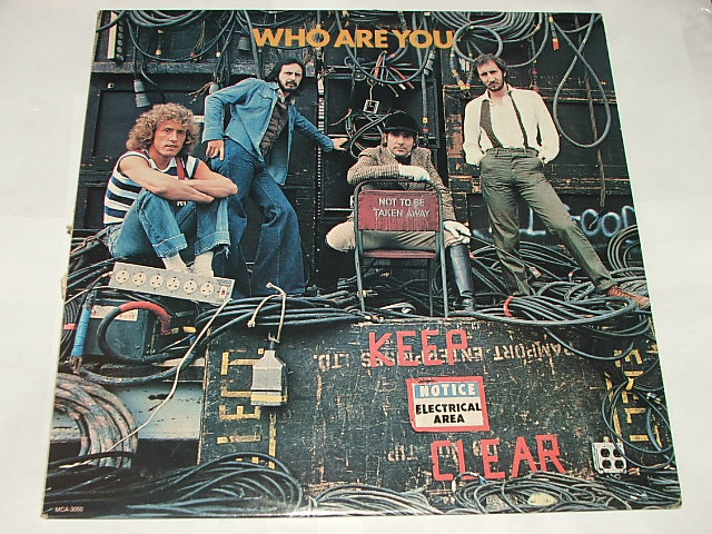 Vinyl Re-Visions: The Who - Who Are You (Rock, 1978)