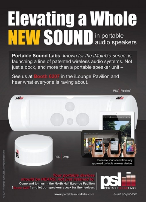 Portable Sound Labs CES Highlights