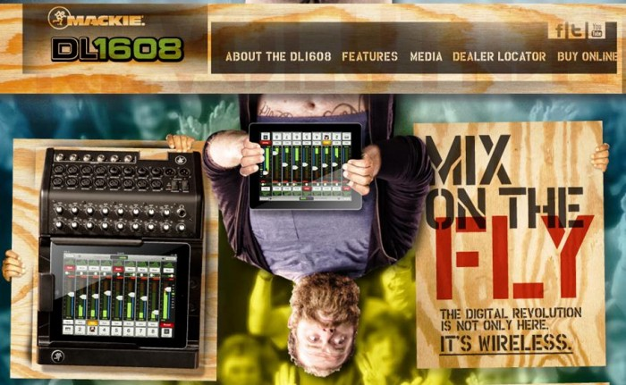 Mackie Brings 16-Channel iPad Powered Mixer to NAMM