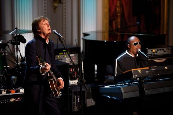Paul McCartney and Stevie Wonder Reunite on New McCartney Album