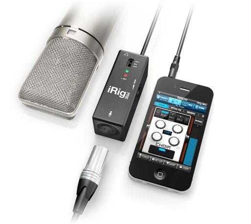 NAMM 2012: IK Multimedia Presents iRig PRE Universal Microphone Interface for iPhone/iPad