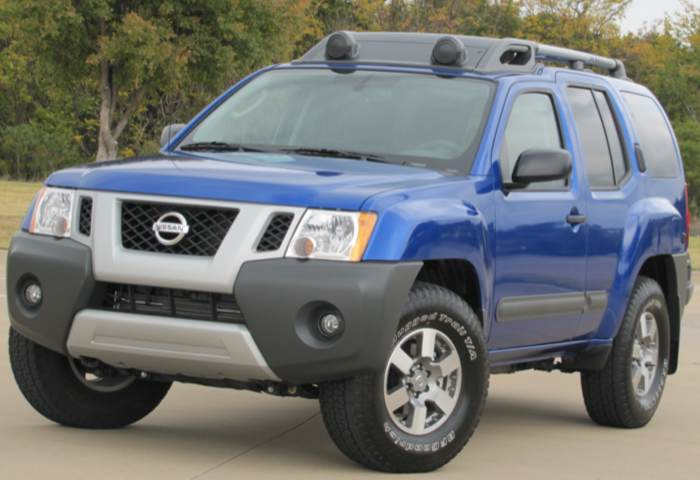2012 Nissan Xterra PRO-4X: Everything You Need. Period.  2012 Nissan Xterra PRO-4X: Everything You Need. Period.