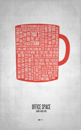 Jerod Gibson's Wordy Art Prints Bring Movie Phrases to Life
