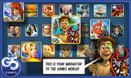 Hands on With G5 Games Navigator for Kindle Fire!