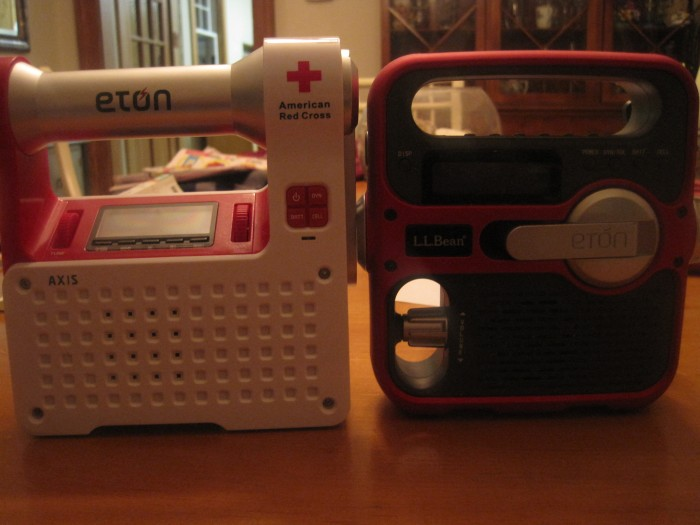 Eton Axis Self-Powered Radio Review