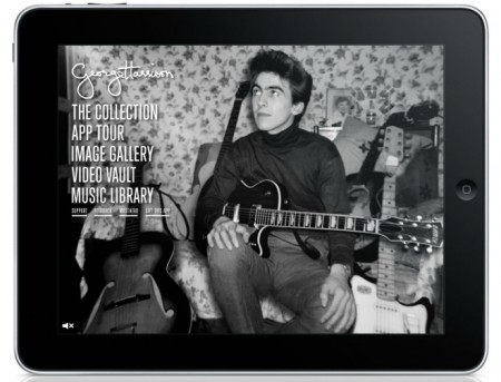 George Harrison iPad App Tests How Much You Will Pay for Nostalgia and Guitar Info