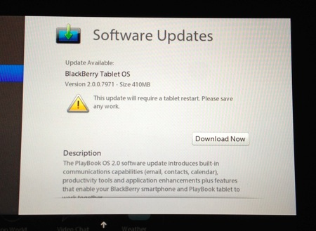 Blackberry PlayBook OS 2.0; Too Little Too Late?