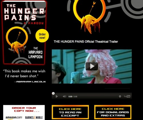 Prepare for The Hunger Games With the Book Trailer for ... The Hunger Pains!