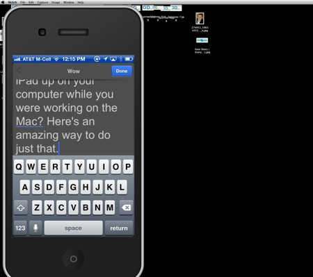 Reflection for Mac Puts Your iOS Device on the Big Screen  Reflection for Mac Puts Your iOS Device on the Big Screen