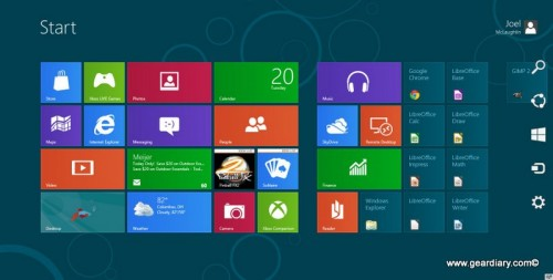 A Linux Geek on Microsoft Windows 8 Consumer Preview