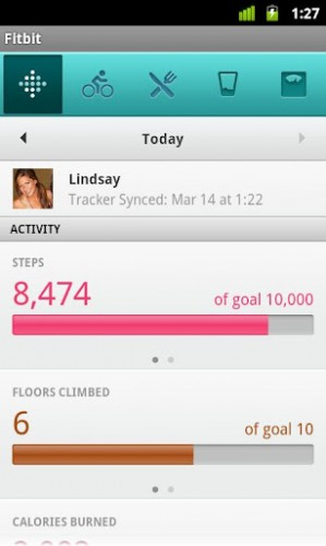 Fitbit Adds an Android App