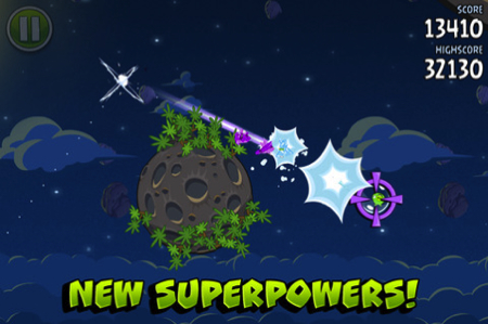 Angry Birds Space for iPhone/Touch