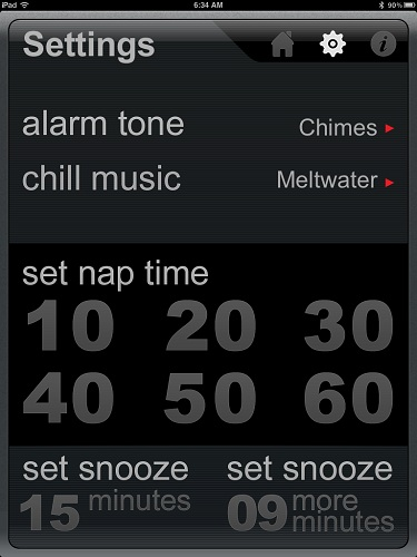 Missing some Zzzs? Try zsnuz Nap App for iPad/iPhone