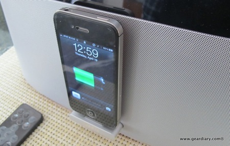 GearDiary Gear4 AirZone Series 1 AirPlay Speaker Dock Review