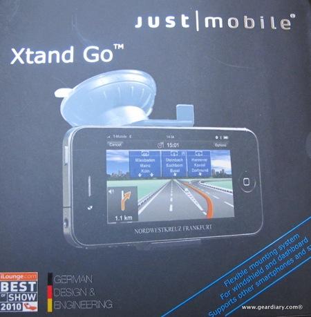 Gear Diary JustMobile XtandGo