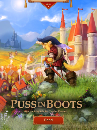 Puss in Boots-HD Interactive Story for iPad Review: More Than Just a Story!