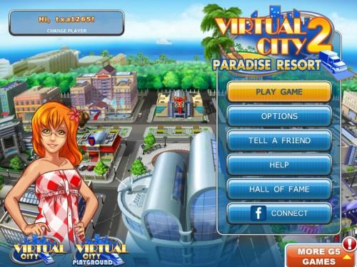 Virtual City 2 Paradise Resort for iPad Review