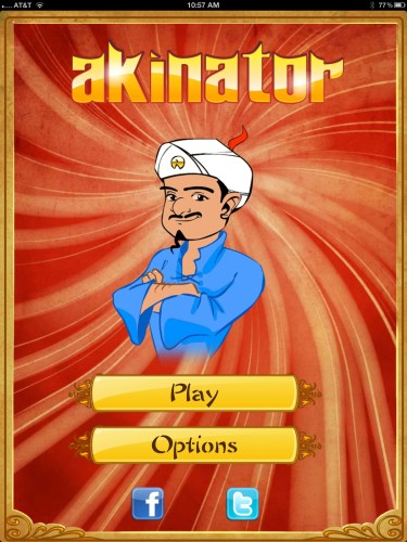 Akinator the Genie, It's Not Magic but It Sure Feels Like It, Review