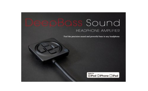 DEEP BASS Active Control Headphone Amplifier for iOS Devices Review
