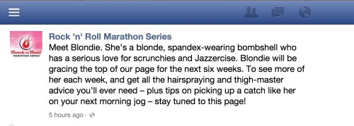 """Rock n Roll Marathon's New """"Mascot"""" Proves to Be Divisive  Rock n Roll Marathon's New """"Mascot"""" Proves to Be Divisive"""