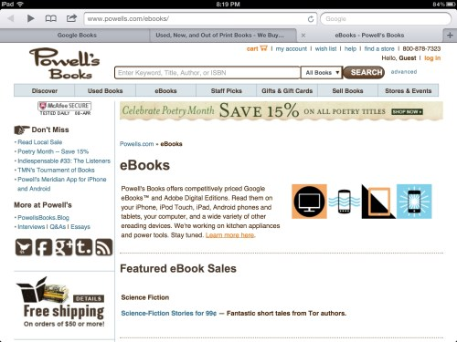 Google Books Plans to Drop Independent Bookstores