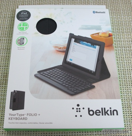 Work Gear iPad Gear Bluetooth Belkin