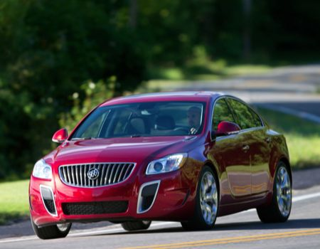 The 2012 Buick Regal GS Is a 'Hot Wheels'