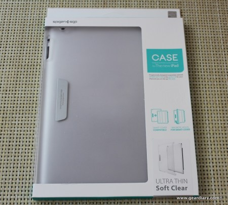 SPIGEN SGP Ultra Thin Case for the New iPad, Review