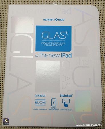 SPIGEN SGP GLAS.t Screen Protector for iPad, Review  SPIGEN SGP GLAS.t Screen Protector for iPad, Review