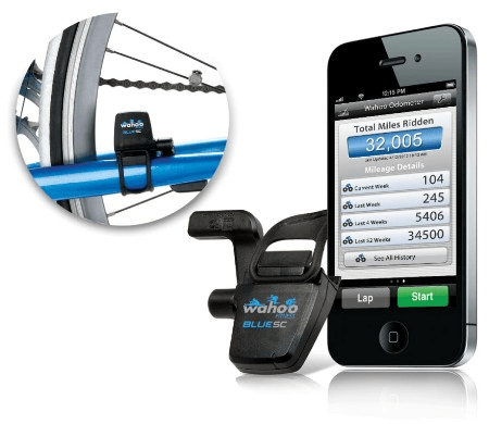 iPhoning Cyclists, Take a Look at the Wahoo Fitness Blue SC