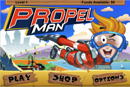 Propel Man for iPhone