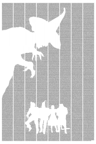 Classic Books as Wall Art from Postertext