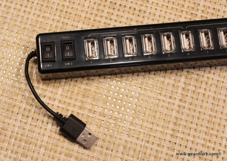 Satechi 12 Port USB Hub with Power Adapter and 2 Controls Review